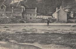 Uniform Man On Beach East End Wemyss Scotland Antique Postcard - Non Classificati