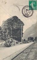 H1705 - RIOUPEROUX - D38 - La Roche Fendue - Otros Municipios