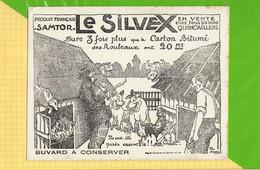 Buvard & Blotting Paper :   Le SILVEX Produits Français SAMTOR Animaux De La Basse Cour Cochon Poule Coq Ect - Animals