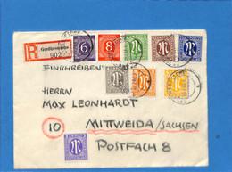 Allemagne Bizone 1946 Lettre De Großhesselohe (G1753) - American/British Zone