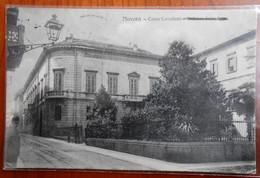 PIEMONTE NOVARA CITTÀ CORSO CAVALLOTTI E PALAZZO INTENDENZA Formato Piccolo Viaggiata 1913 Condizioni Buone - Novara