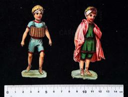 ►  Lot 2 Decoupis  XIXeme - Enfants Petits Baigneurs - Enfants