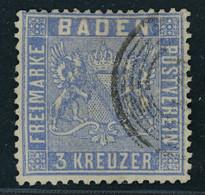 Baden Michel Nummer 10b Gestempelt - Baden