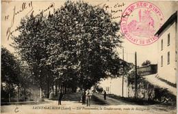 CPA St-GALMIER Les Promenades La Gendarmerie (687595) - Sonstige Gemeinden