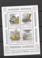 1986 MNH Danmark, Michel Block 5 Postfris** - Unused Stamps