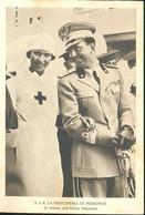 S.A.R. La Principessa Di Piemonte Di Ritorno Dall'Africa Orientale - Familles Royales