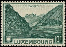 Luxembourg, Luxemburg 1935 Vallée De L'Our Château De Vianden 10F. Michel:283 Neuf MNH** Val.cat.12,50€ - Nuevos