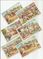 Chromo Liebig Série De Complète De 6 Chromos S_0706 Le Pain 1902 (Bon état) - Liebig