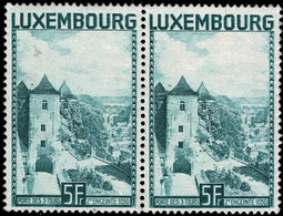 Luxembourg, Luxemburg 1934 Porte Des 3 Tours Paire 5F. Michel:258 Neuf MNH** Val.cat.22€ - Nuevos