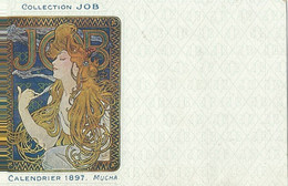 Mucha  Collection Job  Calendrier 1897 - Mucha, Alphonse