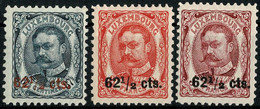 Luxembourg, Luxemburg 1912 Guillaume IV. Surcharge Série Neuf MNH** - 1906 Guillermo IV