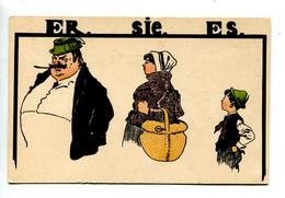 Illustrateur Allemand  ER.SIE.ES - Ohne Zuordnung