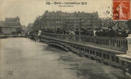 PARIS   INONDATIONS 1910 PONT DE SOLFÉRINO   Paris France Frankrijk Francia - Zonder Classificatie
