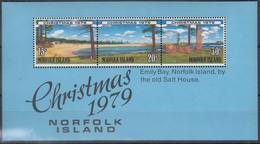 NORFOLKINSEL Block 3, Postfrisch **, Weihnachten, 1979 - Isla Norfolk