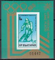 BULGARIEN  Block 95, Postfrisch **, Olympische Sommerspiele 1980, Moskau, 1979 - Blocs-feuillets