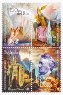 2001 URUGUAY Mnh Opera Tetralogy R. Wagner Music Mythology Opera Musique Musik-Ocaso De Los Dioses- Yv 1959/62 Ml21-2 - Uruguay