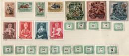 Ungarn 1953 Siehe Bild 26 Marken Meist Gestempelt;  Hungary Most Used - Gebraucht