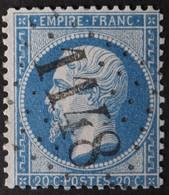 22 Obl GC 1148 Cosse-le-Vivien (51 Mayenne ) Ind 5 ; Frappe Très Nette Et TB Centrée - 1849-1876: Classic Period
