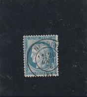 CÉRÈS N° 60 C  - CACHET  HESDIN  (61) PAS DE CALAIS   - REF LOC37 - 1871-1875 Cérès