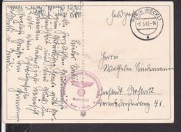 "Postkarte Geburtstag Feldpost "" Flakartillerieschießplatz Rerik ""  1942 - Covers & Documents"