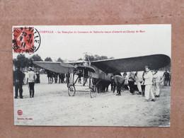Lunéville–le Monoplan Du Lieutenant De Malherbe Venant D'atterrir Au Champ ...... - Airmen, Fliers
