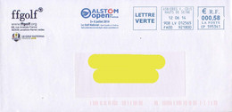 France 2014, Golf / Alstom Open De France / St Quentin En Yvelines / Circulated Cover - Golf