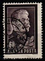 HUNGARY-1953. Death Of Joseph Stalin  (DH3-1) USED!! Mi 1296. - Gebraucht