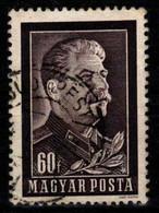 HUNGARY-1953. Death Of Joseph Stalin  (DH3-2) USED!! Mi 1296. - Gebraucht