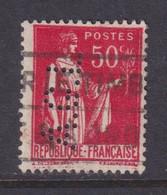 Perforé/perfin/lochung France No 283 A.G.L (101) - Gezähnt (Perforiert/Gezähnt)