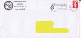 France 1996, Donation Of Blood / Don Du Sang / Wattrelos / Circulated Cover - Other