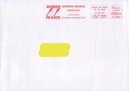 France 2002, Rowing / Aviron / Red Meter / EMA / Circulated Cover - Rowing