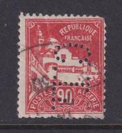 Perforé/perfin/lochung Algérie 1927 No DZ81  C.L. Crédit Lyonnais (14) - Oblitérés