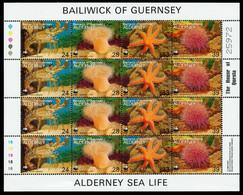 ALDERNEY Nr 61KB-64KB Postfrisch KLEINBG X6A699E - Alderney