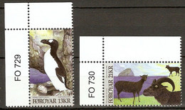 Faroe Islands 2012 MiNr. 745 - 746  Dänemark Färöer BIRDS Great Auk ,Mouflon  2v  MNH ** 9,50 € - Altri