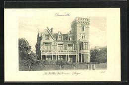 CPA Deauville, La Villa Victoria, Loge - Deauville