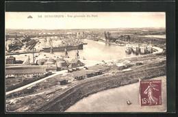 CPA Dunkerque, Vue Générale Du Port - Dunkerque