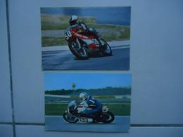 2 Cartes Postales YAMAHA / Moto G.P. - Motorcycle Sport
