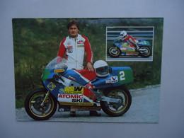 Carte Postale Stefan KLABACHER - ROTAX 250 Cc - MOTO G.P. ( +/- 1984 ) - Motorcycle Sport