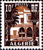 Algérie Poste N** Yv:313A Mi:326 Cour Mauresque Du Musée Du Bardo (Petit Pt De Rouille) - Ungebraucht