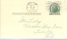 STATIONERY  1951  SEATTLE - 1941-60