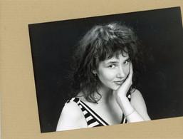 """Photo Originale . La Comédienne AURELLE DOAZAN  Dans C'était  """" Dim Dam Dom """" - Famous People"""