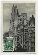 ESPANA  10C LA CRUZ ROJA ESPANOLA AU RECTO TARJETA MADRID ESTANQUE DEL RETIRO 1927 - 1931-50 Covers