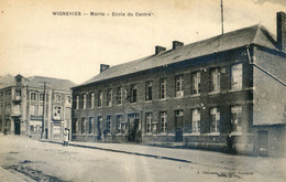 59 - Wignehies - Mairie - Ecole Du Centre - Autres Communes