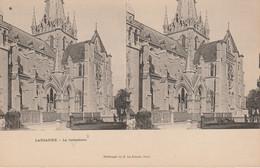 Suisse - LAUSANNE - La Cathédrale -  Vue Stéréoscopique - Cartoline Stereoscopiche