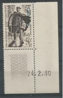 Algérie 170a - 1950 N° 282 Coin Daté - Ohne Zuordnung