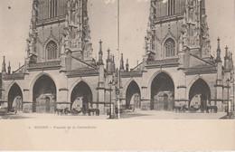 Suisse - BERNE - Façade De La Cathédrale -  Vue Stéréoscopique - Cartoline Stereoscopiche