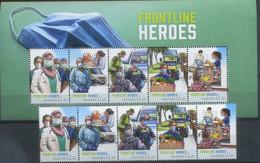 Australia 2021 Medicine, Corona, Frontline Heroes, Covid-19 MNH** - Mint Stamps