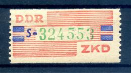 DDR ZKD 1959 Nr 27 S Postfrisch (408826) - Dienstzegels