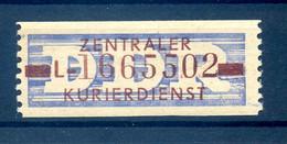 DDR ZKD 1958 Nr 20 L Postfrisch (408829) - Dienstzegels