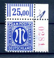 BIZONE 1945 Nr 28A R4 Postfrisch (408984) - American/British Zone